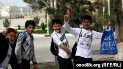 Узбекские дети. Иллюстративное фото.