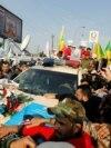 Bagdad, Irak, funeraliile generalului Qassem Soleimani