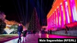 Тбилиси в предновогодние дни
