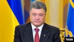 Ukrainian President Petro Poroshenko (file photo)