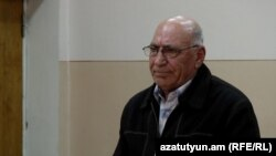 Armenia -- Henrik Shabazian, deputy mayor of Kotayk village, stands trial for vote rigging, 16Mar2016.