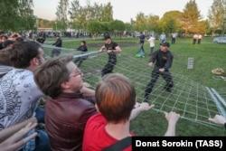 Протест против строительства храма в Екатеринбурге