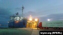 Иллюстрационное фото: Керчь, паромная переправа, порт «Крым»