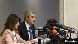Ermənistan Nəqliyyat, Rabitə və İnformasiya Texnologiyaları naziri Vahan Martirosyan, Yerevan. 19 dekabr 2016