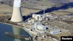 Атом электр станциясы. Көрнекі сурет.