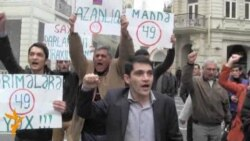 Azerbaijani Police Break Up Opposition Protest