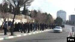 تجمع گروهی از رادیولوژیست ها در تهران