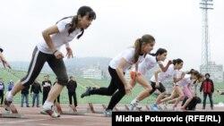 Revijalna utrka, 100 dana do početka Olimpijskih igara u Londonu, Sarajevo, 18. april 2012.