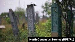 Кладбище в Чечне. Иллюстративное фото