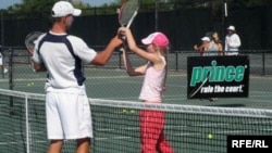 16-летняя россиянка Мария Мох – ученица Теннисной академии Ника Боллеттиери