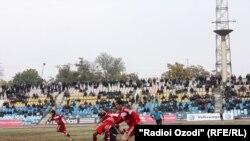 """Tajikistan -- Football match """"Istiqlol"""" versus """"Regar"""", Dushanbe, 03Dec2010"""