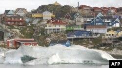 Гренландский город Илулиссат.
