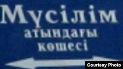 Оңтүстік Қазақстан облысындағы көшелердің бірі. 18 тамыз 2010 жыл.