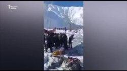 Сход снежной лавины в Сангворе: как это было
