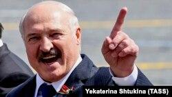 Александр Лукашенко Москвадагы Жеңиш парадында. 24-июнь, 2020-жыл.