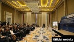 Грузия полностью выполнила обязательства, предполагаемые планом визовой либерализации с ЕС, и теперь мяч на стороне поля европейских партнеров, заявил Георгий Квирикашвили, открывая конференцию