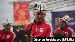Кыргызстанды көкбөрү боюнча курама командасы.