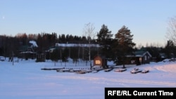 Карельское поселение, архивное фото
