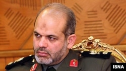 Defense Minister Major General Ahmad Vahidi