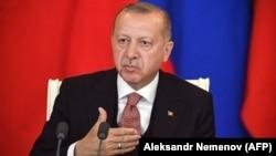 د ترکیې ولسمشر رجب طیب اردوغان