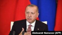 Архива: Турскиот претседател Реџеп Таип Ердоган.