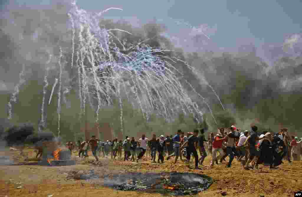 АҚШ бұл қақтығыстың артында ХАМАС ұйымы тұр деп айыптады.