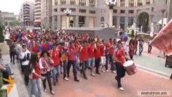 Հայաստան-Մալթա ֆուտբոլային հանդիպումից առաջ և հետո