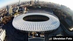 Игра проходила на поле НСК «Олимпийский»