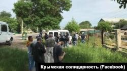 Обыски в Крыму, 10 июня 2019 года, иллюстрационное фото Qırımda tintüv, 2019 yılı, iyün 10, körgezmeli süret