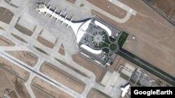 Международный аэропорт Ашхабада, изображение Google Maps