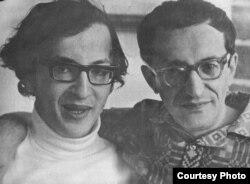 Герман Плисецкий (справа) с сыном Дмитрием