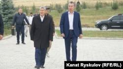 Алмазбек Атамбаев и Фарид Ниязов.
