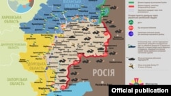 Ситуація в зоні бойових дій на Донбасі, 28 червня 2017 року