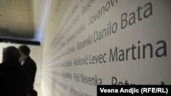 Sećanje na žrfve holokausta, Beograd, 27.1.2012.