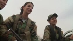 IŞİD-ə qarşı döyüşən qadınlar [Video]