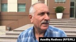 Мехман Алієв після звільнення, Баку, Азербайджан, 11 вересня 2017 року