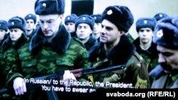 У фільме паказваецца шэраг праблемаў сучаснага беларускага грамадзтва, у тым ліку адсутнасьць роўнасьці дзьвюх дзяржаўных моваў. Адзін з герояў фільму Шэры (Максім Каржыцкі) адмаўляецца прымаць прысягу па-расейску.