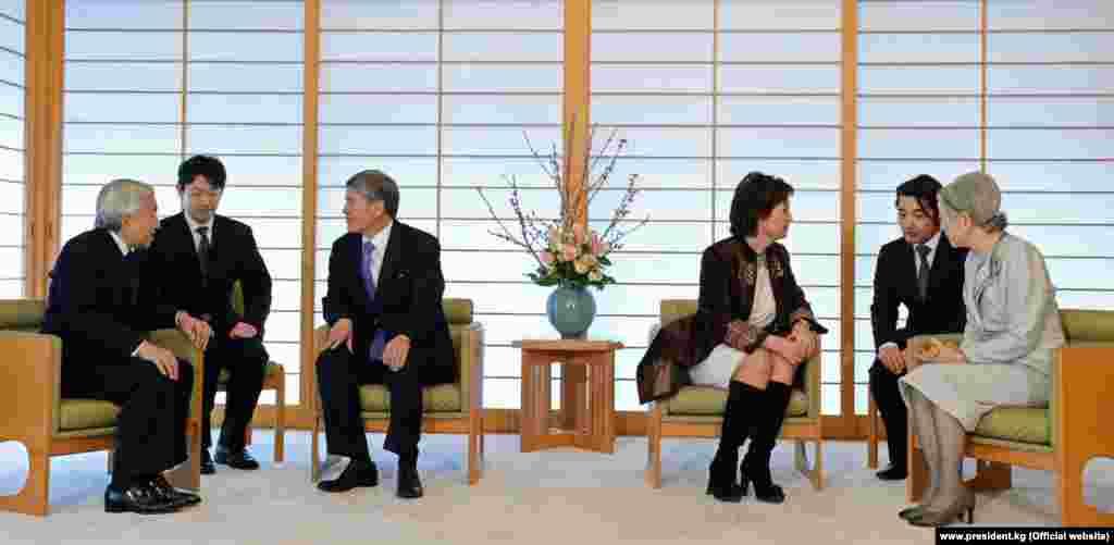 Официальный визит в Японию, 2013