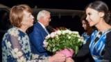 Germaniýanyň prezidenti Frank-Walter Steinmeier Daşkentde geldi. 27-nji maý, 2019 ý.