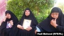 امهات ضحايا السماوة من متطوعي سبايكر