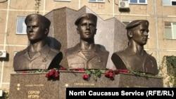 Памятник ОМОНовцам в Дагестане