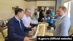 Дмитро Полонський на зустрічі з китайськими вченими