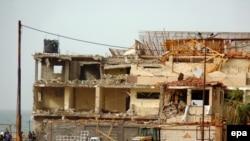 На месте очередного теракта в Арише. Синай, 4 ноября 2015 года.