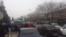 Dəmir yolu xəstəxanasının bağlanması xəbərinə işçilərin etirazı , Gəncə şəhəri, 17 yanvar 2017