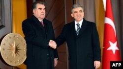 2012 год. Встреча президентов Эмомали Рахмона и А. Гюля в Анкаре