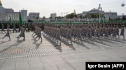 Военный парад, Ашхабад, 27 октября, 2017
