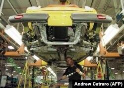 Производство автомобилей в США, 1997