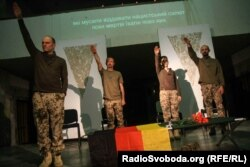 Вистава «Ніч в Афганістані» Андре Ерлена на фестивалі «Драма.UA» (фото з Facebook)