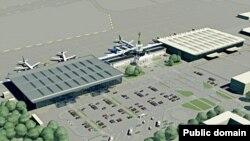 Макет аеропорту в Харкові (фото з сайту avianews.com)