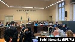 Третє засідання у справі нацгвардійця Віталія Марківа, Павія, Італія, 23 листопада 2018 року